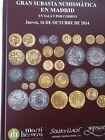 Catálogo de subastas de monedas de Martí Hervera y Soler y Llach. Octubre 2014.
