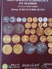 Catálogo de subastas de monedas de Martí Hervera y Soler y Llach. Octub de 2013.
