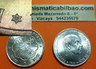 ESPAÑA 100 PESETAS 1966 19/67 PLATA @TIPO 1 INCLINADO@ ESTADO ESPAÑOL SC 1967