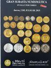 Catálogo de subastas de monedas de Martí Hervera y Soler y Llach. Julio 2015.