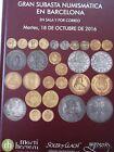 Catálogo de subastas de monedas de Martí Hervera y Soler y Llach. Octubre 2016.