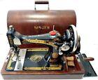MUY BONITA y  antigua maquina de coser SINGER 28 k de 1927 FUNCIONA