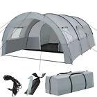 Tienda de Campaña Acampada Camping Exterior Familiar Bolsa Transporte Gris Nuevo