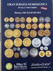 Catálogo de subastas de monedas de Martí Hervera y Soler y Llach. Julio de 2013.