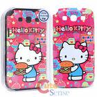 Sanrio Hello Kitty Samsung Galaxy 3 S3 Duro Funda de Teléfono: Tipo Hamburguesa