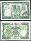 ESPAÑA SPAIN 1000 pesetas 1957 Reyes Catolicos Pick 149 SC / UNC