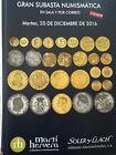 Catálogo de subastas de monedas de Martí Hervera y Soler y Llach. Diciembr 2016.
