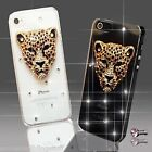ANIMALES DIAMANTE DE MÓVILES FUNDA SAMSUNG iPHONE SONY HTC 4S 5 5S S6 S5 Mini