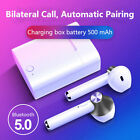 Wireless Bluetooth 5.0 Earbuds Earphones with Charger Box for iPhone Samsung LG