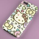 Hello Kitty Pattern Love FULLY WRAPPED HARD PHONE CASE COVER IPHONE SAMSUNG
