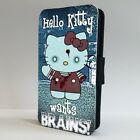 Hello Kitty Funny Zombie Art FLIP PHONE CASE COVER for IPHONE SAMSUNG