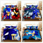 Sonic The Hedgehog Game Duvet Cover 3 Pieces Bedding Set Single Double King Size