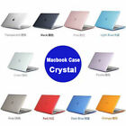 Crystal Transparent Hard Cover Laptop for MacBook Air 11 Pro Retina 13 15 inch