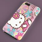Hello Kitty Pink Love Heart FULLY WRAPPED HARD PHONE CASE COVER IPHONE SAMSUNG
