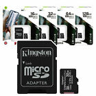 TARJETA MEMORIA MICRO SD KINGSTON  16GB 32GB 64GB 128GB Clase 10