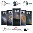 Milky Way Galaxy Star Universe Cosmos Space Plastic Phone Case Cover for Samsung