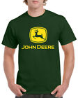 John Deere T-Shirt Inspired Tractor Enthusiast Farming Unisex Adults Tee Top New