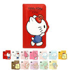 Hello Kitty 3D Silhouette Leather Flip Case For Samsung Galaxy Note10 Note10+