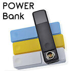 Bateria Externa para Moviles Android Micro USB Cargador Power Bank 2600mAh Carga