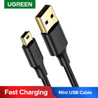 Ugreen Mini USB Cable Sync Charge Lead Type A to 5 Pin B Fr Phone Charger Camera