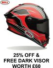 25% OFF Bell Street RACE STAR TRITON Red Carbon Shell Flex Impact Liner Helmet