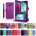 For Samsung Galaxy Core Prime Fame Ace 4 case Leather Book Wallet Flip Cover