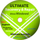 Ultimate Boot & Repair CD DVD Windows 10 8 7 Vista XP PC REPARATUR