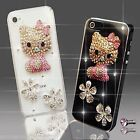 NUEVO DIAMANTE HELLO KITTY DIAMANTE FUNDA 4 SAMSUNG iPHONE SONY HTC 5 6 S6 S5