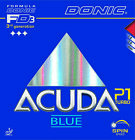 Donic Acuda Blue P1 Turbo Revestimiento de Tenis Mesa Ping Pong