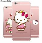 Hello Kitty Soft TPU Silicone Case Cover For Apple iPhone Samsung Galaxy