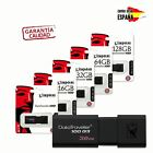 Pendrive memoria USB 3.0 Kingston DT100 G3 16/32/64/128GB Unidad Flash Drive