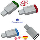 Pendrive memoria USB 3.1 3.0 Kingston DT50 8/16/32/64/128GB Unidad Flash Drive