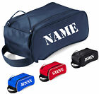 PERSONALISED SHOE BAG CARRY HANDLE BOWLS GOLF SPORTS BOWLING TRAVEL TOILETRIES