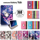Samsung Galaxy Tab 4/ 3 / A / E Smart 360 Degree Rotating Tablet Case Cover