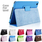 """Leather Tablet Stand Flip Cover Case Samsung Galaxy Tab A 7""""/A6 10.1/E 9.6""""/3/4"""