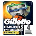 Gillette Fusion Proglide Power - 4 and 8 Blade Packs - 100% Genuine - UK Seller