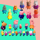 10/1x Set Peppa Pig Friends Action Figures Kids Toys Gift Emily Rebecca (S99)