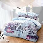 Unicorn Bedding Duvet Cover Set King Size Double Single Luxury Quilt Reversible