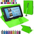 "Universal Flip Leather Case Cover Stand Fits Alcatel 1T 10 -10.1""inch Tablet+Pen"