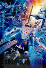 Poster A3 Star Wars Naves Espaciales Spaceships Pelicula Film Movie Cartel 01
