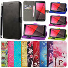 For Vodafone Smart N9 VFD-720 - N9 LITE VFD 620 -Wallet Leather Case Cover + Pen