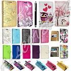 "`Premium Leather Wallet Case Cover For Alcatel Pop 4(5.0"")4G + free stylus pen"