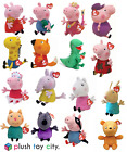 """TY PEPPA PIG, GEORGE & FRIENDS SOFT PLUSH TOYS 6"""" - 7"""" LOTS TO CHOOSE, BRAND NEW"""