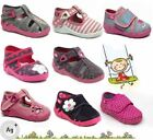 Baby Girl Canvas Shoes / Toddler Slippers Sandals Trainers All UK Kids Sizes