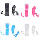 Built in Motion Plus Remote and Nunchuck Controller+Case for Nintendo Wii&Wii.