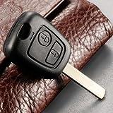 Funda para llaves blade für Peugeot 207 307 407 Citroen C1 C2 C3 C4 C5 XSARA PICASSO