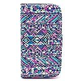 COLJOY® Funda chic de cuero para el Samsung Galaxy Core (GT-i8260 / GT-i8262 Duos) con una práctica función de soporte, Diseño 31