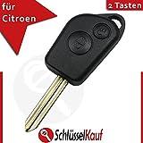 Citroen 2botones Carcasa para llave en blanco SX Berlingo Picasso Xsara Saxo Xantia nuevo