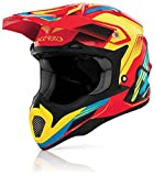 ACERBIS CASCO KRYPTONITE TG. M ROJO-AMARILLO