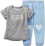 Carter s - Pijamas enteros - para bebé niña grau, blau